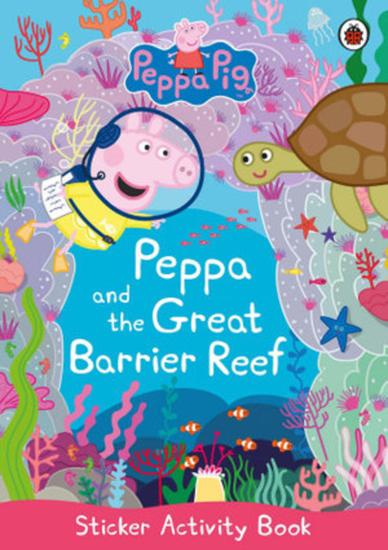 Peppa-and-the-great-barrier-reef-sticker-activity