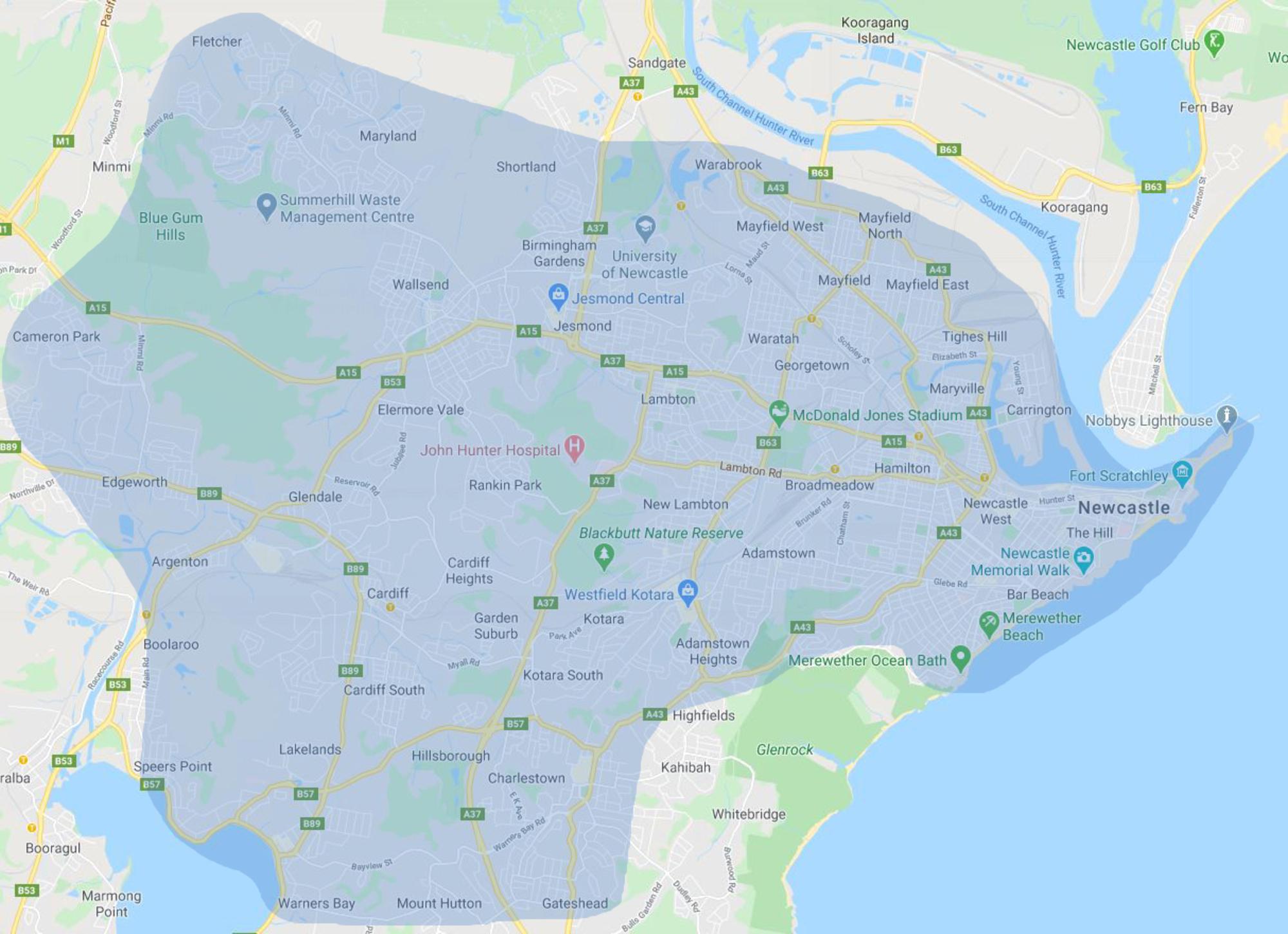 Kotara-delivery-map